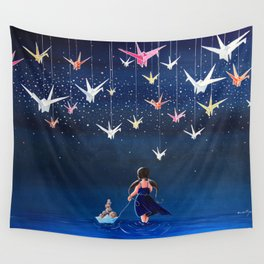 Origami Dream Wall Tapestry