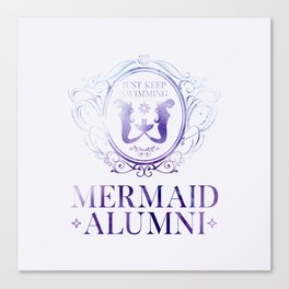 Mermaid Alumni Canvas Print