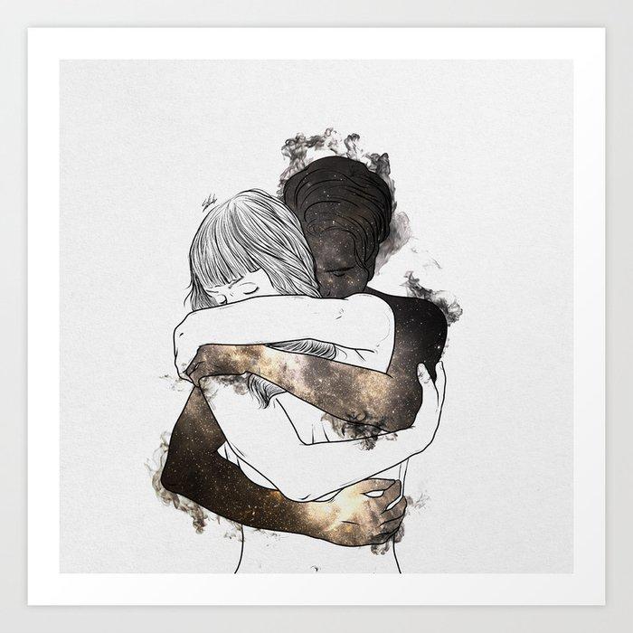 I would keep you forever (GOLD). Kunstdrucke