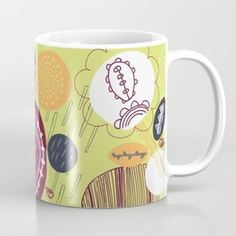 flower lines Coffee Mug