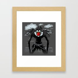 Ryuk Magritte Framed Art Print