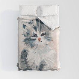 Kitten Portrait Comforters