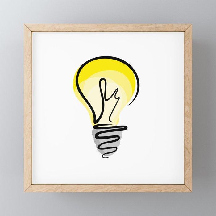 Good Idea Framed Mini Art Print