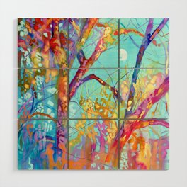 January Tree Wood Wall Art