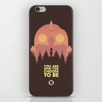 iron giant iPhone & iPod Skins featuring I love you Giant by VineDesign