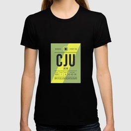 Baggage Tag E - CJU Jeju South Korea T-shirt