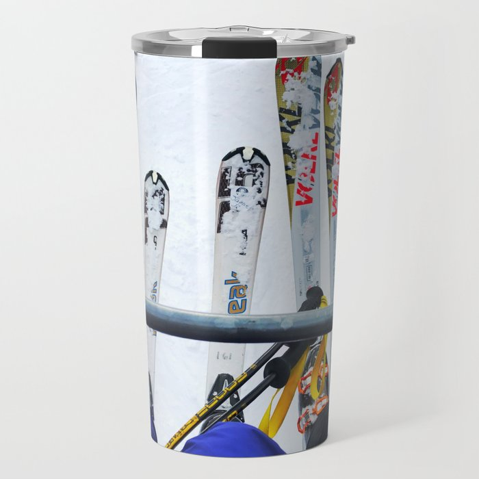 Ski All Day Travel Mug