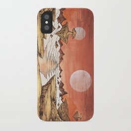 TIME WORN ETHER iPhone Case
