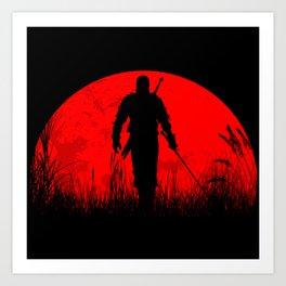 Geralt of Rivia - The Witcher Kunstdrucke