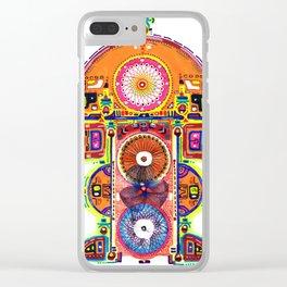 Teonanacatl Clear iPhone Case