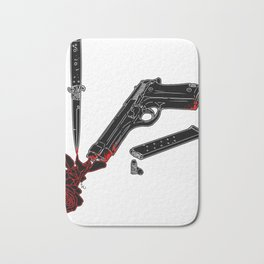 Guns and Posers Bath Mat