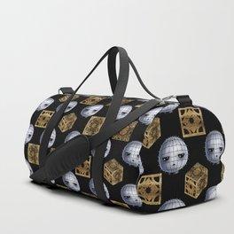Chibi Pinhead & Puzzle Boxes Duffle Bag