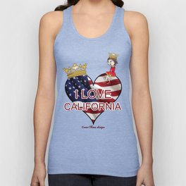 Lisy Loves California Unisex Tank Top
