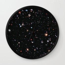 Hubble Extreme Deep Field Wall Clock