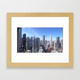 Rooftop Jams Framed Art Print