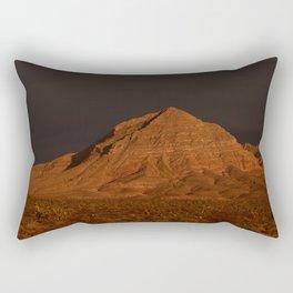 Desert Alpenglow Rectangular Pillow