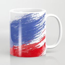 Russia's Flag Design Coffee Mug