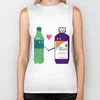 gucci Biker Tanks featuring Lean in Love by Grime Lab