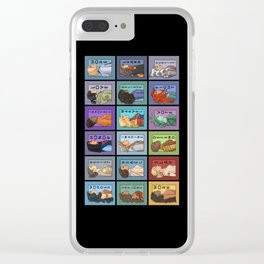 She Series Collage - Version 3 Clear iPhone Case