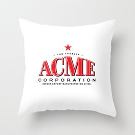 WHO FRAMED ROGER RABBIT - ACME Corporation Throw Pillow