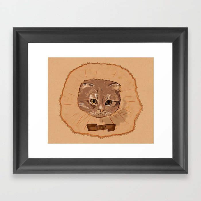 Petunia Framed Art Print