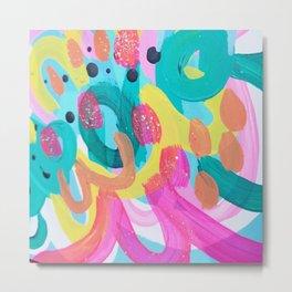 rainbow vibrance Metal Print