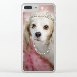 Lady Beatrice Clear iPhone Case