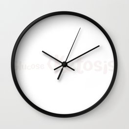 Keto Glucose Is Less Than Ketosis Funny Keto Lifestyle Wall Clock