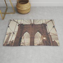 Moody Brooklyn Bridge Rug