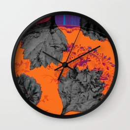 A colorful symphony for Anna Wall Clock