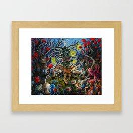 Ain't no pa®ty like a M'thlzebek pa®ty~ Framed Art Print