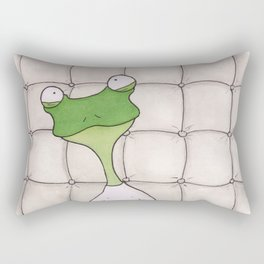Crazy Frog Rectangular Pillow