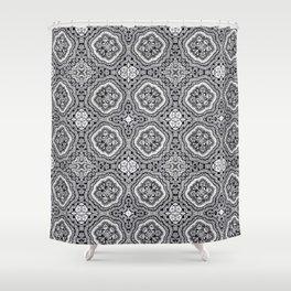 Doodle Pattern 4 Shower Curtain