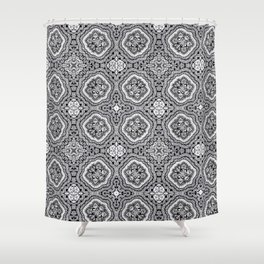 Doodle Pattern 4 Shower Curtain