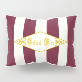 Mulled Wine Antique Pillow Sham