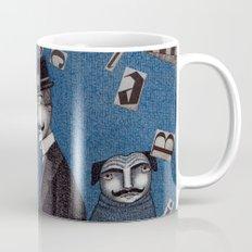 Two Men Travelling Coffee Mug