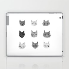 Cat Faces Laptop & iPad Skin