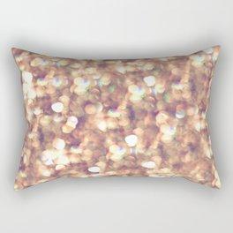 glitter and shine Rectangular Pillow