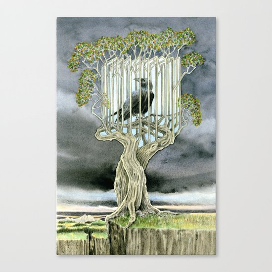 Wicked nature Canvas Print
