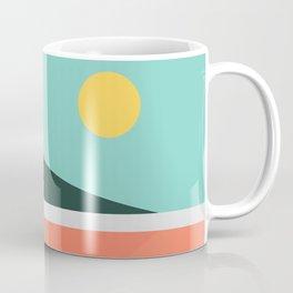 Geometric Landscape 15 Coffee Mug