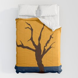 A Scorched Tree Skeleton of Deadvlei Comforters
