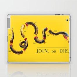 Join, or Die. Laptop & iPad Skin