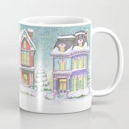 Row of Snow Houses Coffee Mug