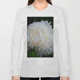 Champagne Peony by Teresa Thompson Long Sleeve T-shirt