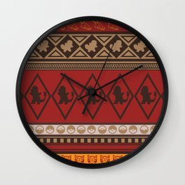 Poke Tribe (Southwest) Wall Clock