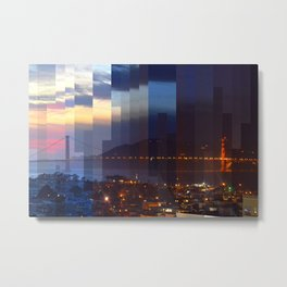 Bay Area Timelapse 022416 Metal Print