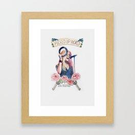 Fucked Up World Framed Art Print