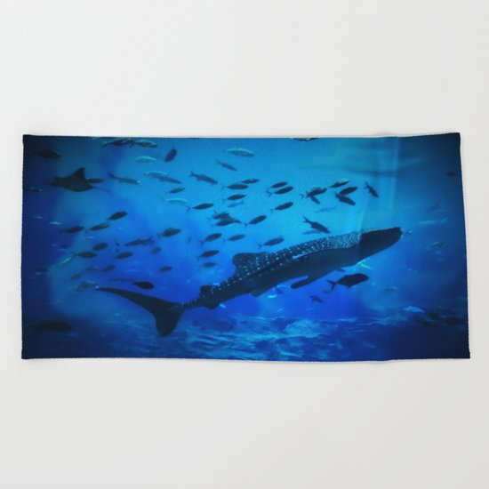 A Whale of a Teacher Beach Towel