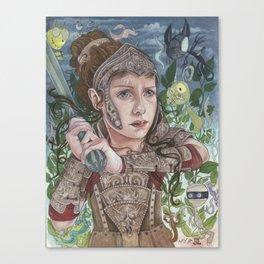 Dragon Warrior Canvas Print