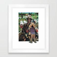 S t o p Framed Art Print